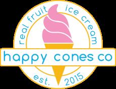 Happy Cones Co - Real Fruit Ice Cream - Est. 2015
